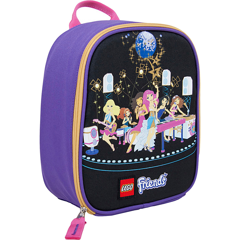 LEGO Friends Popstar Vertical Lunch Purple LEGO Travel Coolers