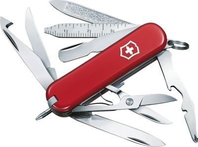 Victorinox Swiss Army Multi-Tool MiniChamp Red - Victorinox Swiss Army Outdoor Accessories