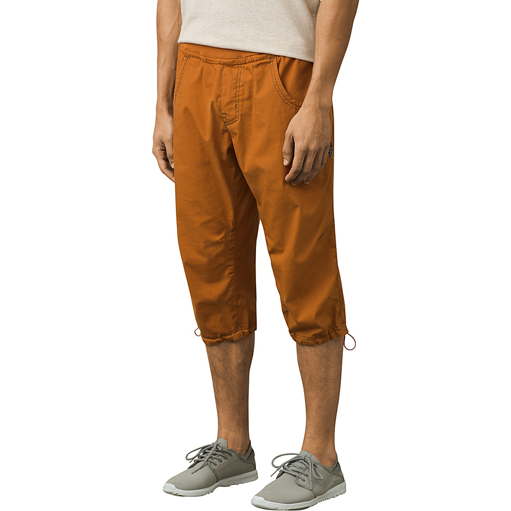PrAna Zander Knicker Pant M - Adobe - PrAna Mens Apparel - Apparel & Footwear, Men's Apparel