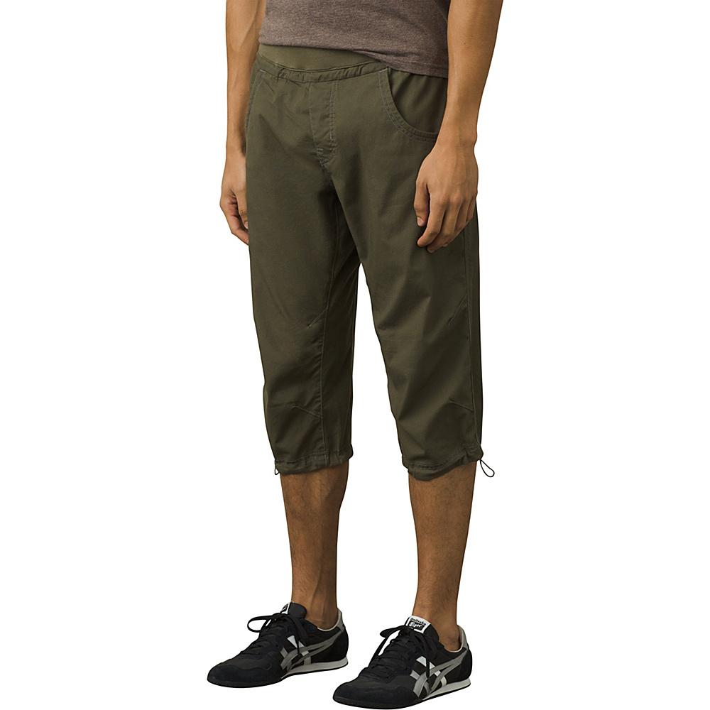 PrAna Zander Knicker Pant M - Cargo Green - PrAna Mens Apparel - Apparel & Footwear, Men's Apparel