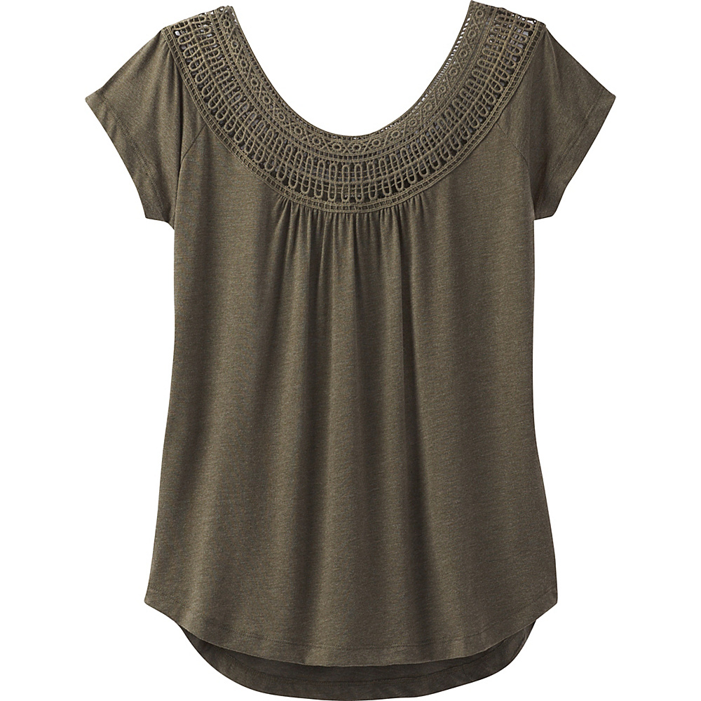 PrAna Nelly Tee L - Cargo Green - PrAna Womens Apparel - Apparel & Footwear, Women's Apparel
