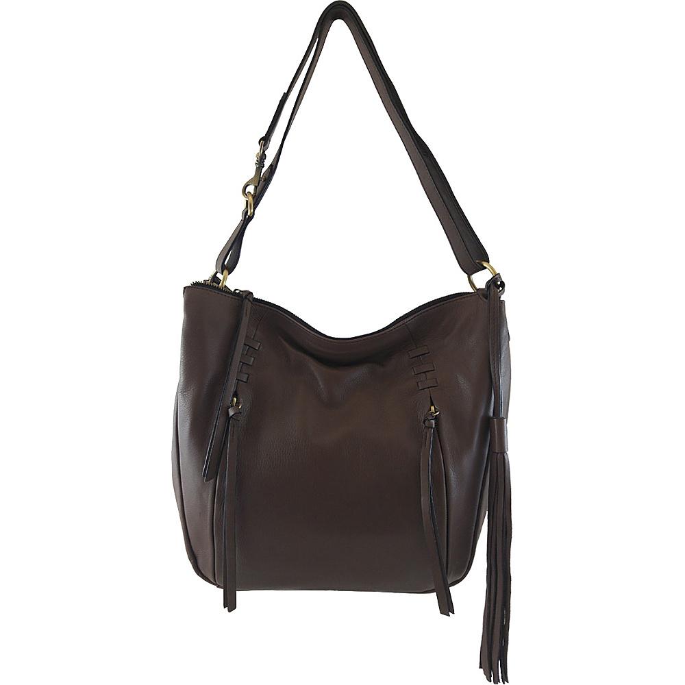 Joelle Hawkens by treesje Candyce Med. Hobo Chocolate Joelle Hawkens by treesje Leather Handbags
