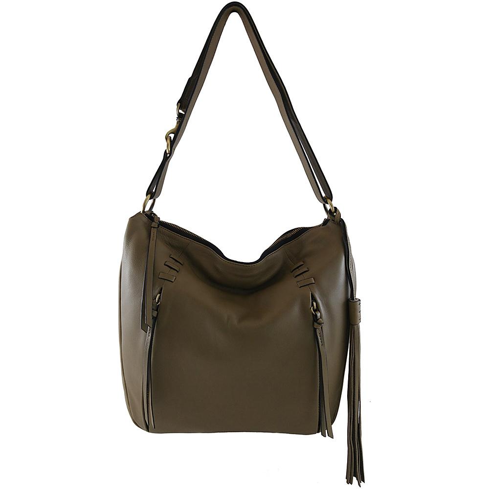 Joelle Hawkens by treesje Candyce Med. Hobo Shale Joelle Hawkens by treesje Leather Handbags