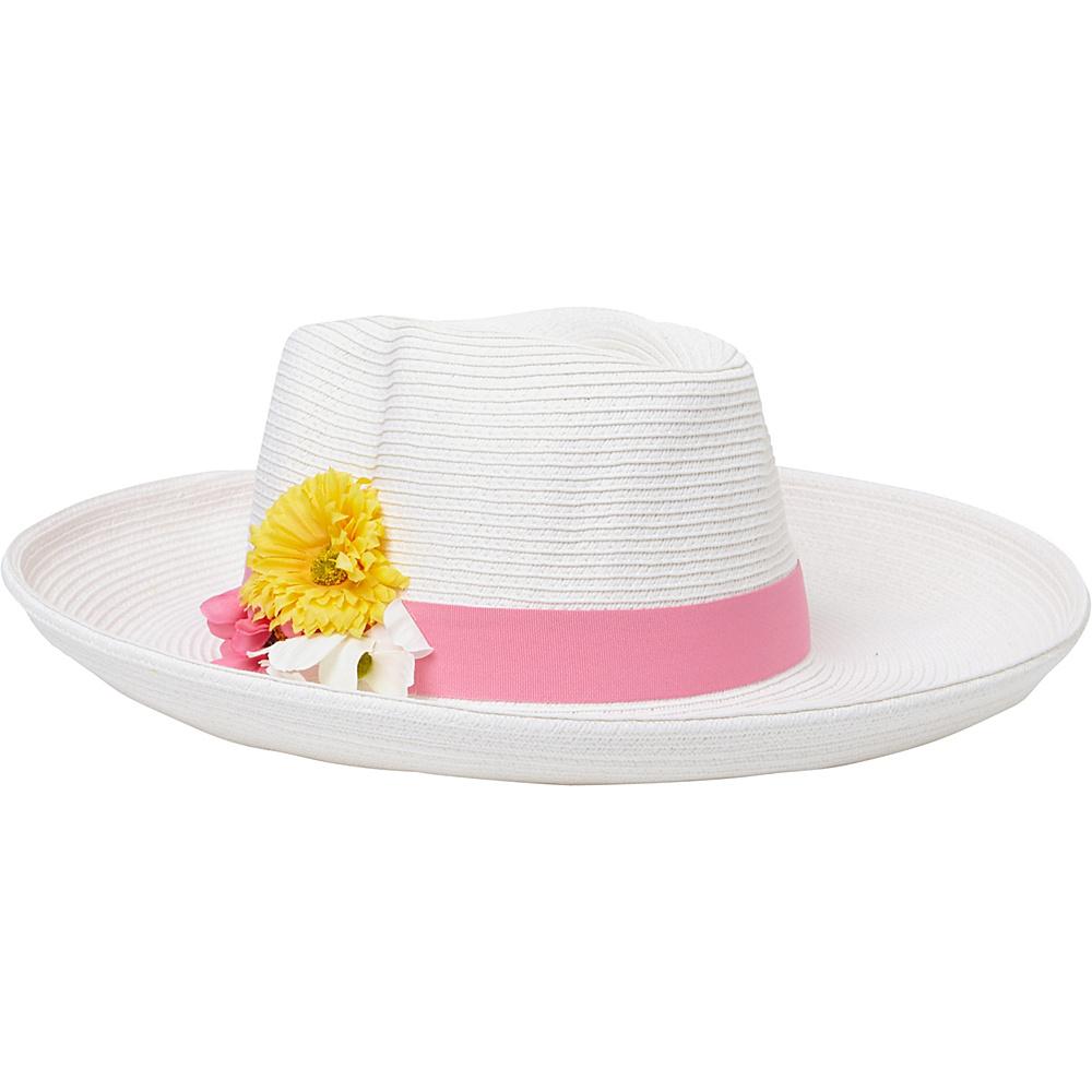 Sun N Sand Paper Braid Hat White - Sun N Sand Hats - Fashion Accessories, Hats