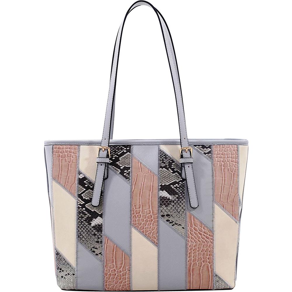 MKF Collection by Mia K. Farrow Josie/ Galleria Tote Beige - MKF Collection by Mia K. Farrow Manmade Handbags - Handbags, Manmade Handbags