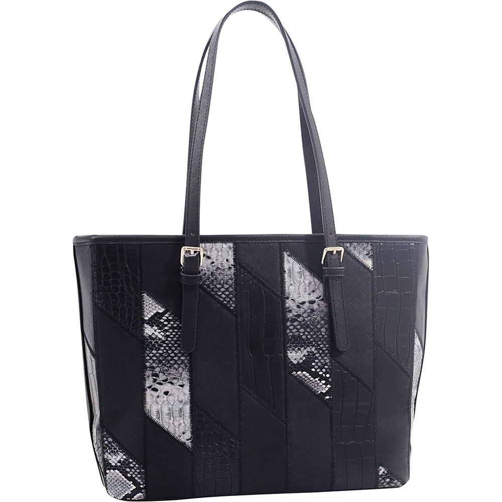 MKF Collection by Mia K. Farrow Josie/ Galleria Tote Black - MKF Collection by Mia K. Farrow Manmade Handbags - Handbags, Manmade Handbags