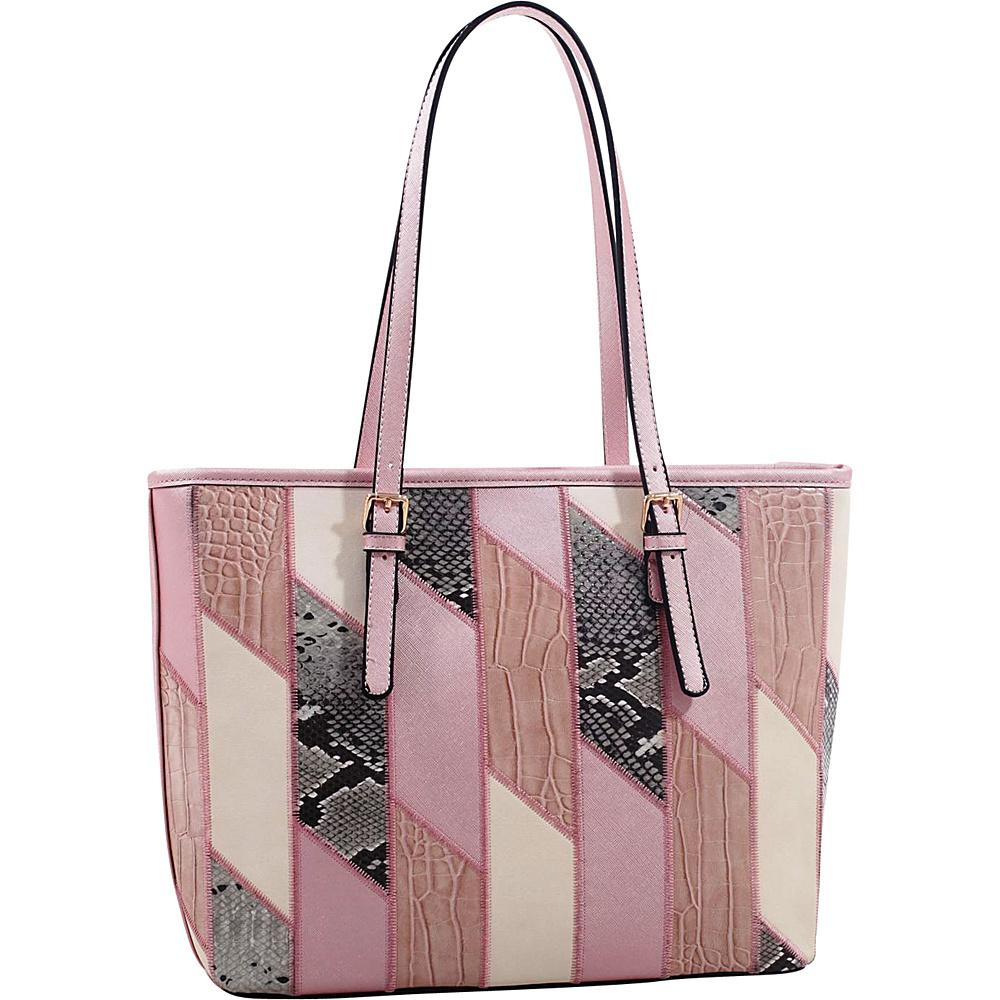 MKF Collection by Mia K. Farrow Josie/ Galleria Tote Pink - MKF Collection by Mia K. Farrow Manmade Handbags - Handbags, Manmade Handbags