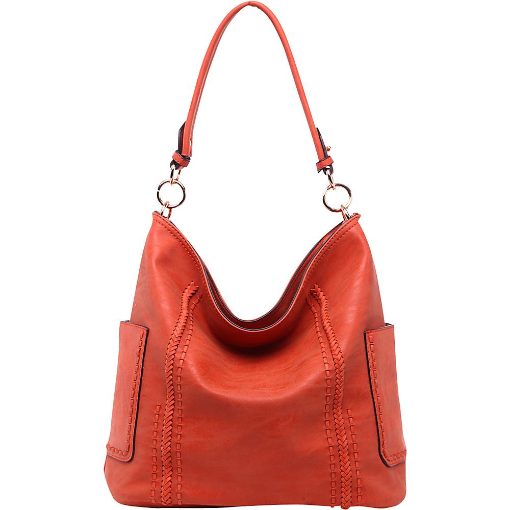 MKF Collection by Mia K. Farrow Betty Hobo Shoulder Bag Pumkin - MKF Collection by Mia K. Farrow Manmade Handbags - Handbags, Manmade Handbags
