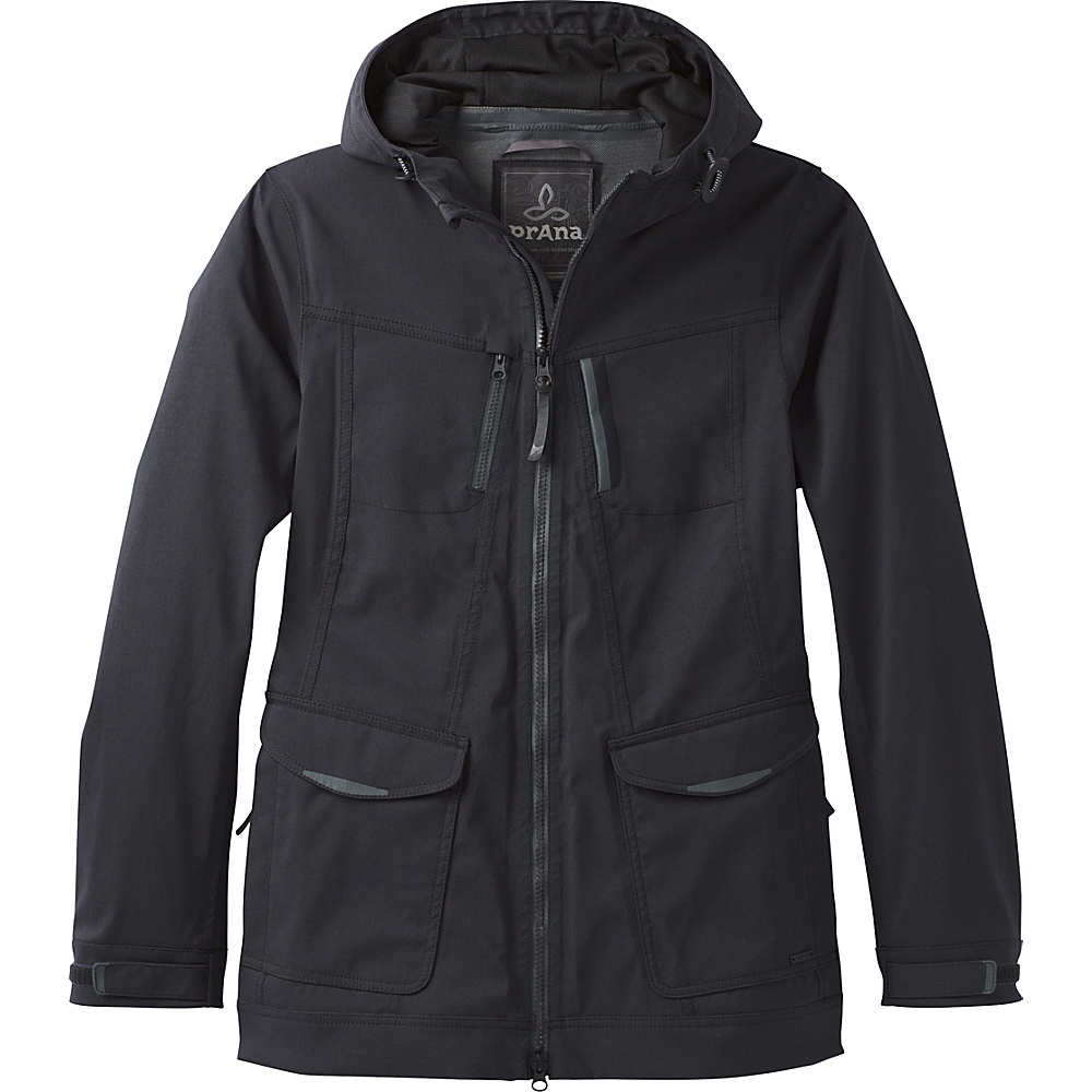 PrAna Halle Hooded Jacket M - Black - PrAna Womens Apparel - Apparel & Footwear, Women's Apparel