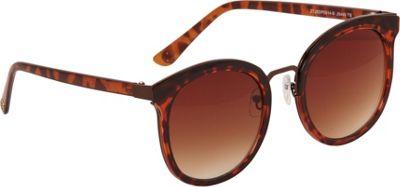 Jessica Simpson Sunwear Oversized Modified Cat Eye Sunglasses Tortoise - Jessica Simpson Sunwear Eyewear