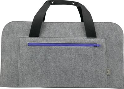 Mad Rabbit Kicking Tiger Mad Rabbit Kicking Tiger Ted Weekender Elephant Grey - Mad Rabbit Kicking Tiger Travel Duffels