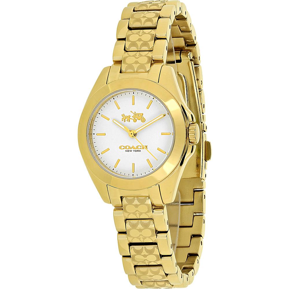 Coach Watches Coach Women's Tristen Watch White - Coach Watches Watches