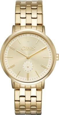 Chaps Dunham Three-Hand Watch Gold - Chaps Watches