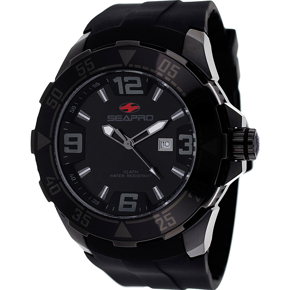 Seapro Watches Men s Diver Watch Black Seapro Watches Watches