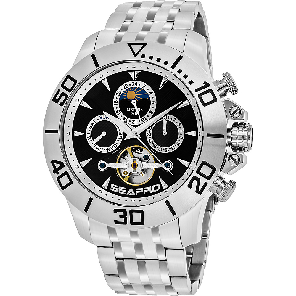 Seapro Watches Men s Montecillo Watch Black Seapro Watches Watches