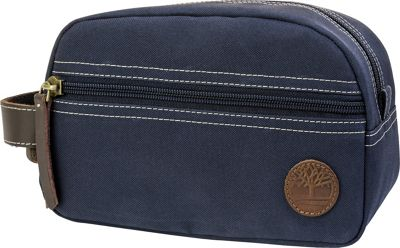 Timberland Wallets Classic Canvas Travel Kit Navy - Timberland Wallets Toiletry Kits