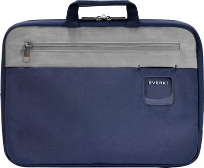 Everki ContemPRO 15.6 inch Laptop Sleeve w/ Memory Foam Navy - Everki Electronic Cases
