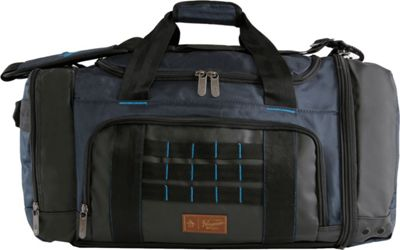Original Penguin Luggage Highfield 24 inch Medium Weekender Duffel Bag Navy - Original Penguin Luggage Travel Duffels