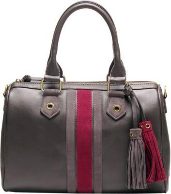 Like Dreams Selena Satchel Grey - Like Dreams Manmade Handbags