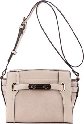 MKF Collection by Mia K. Farrow Coach Crossbody Bag Beige - MKF Collection by Mia K. Farrow Manmade Handbags