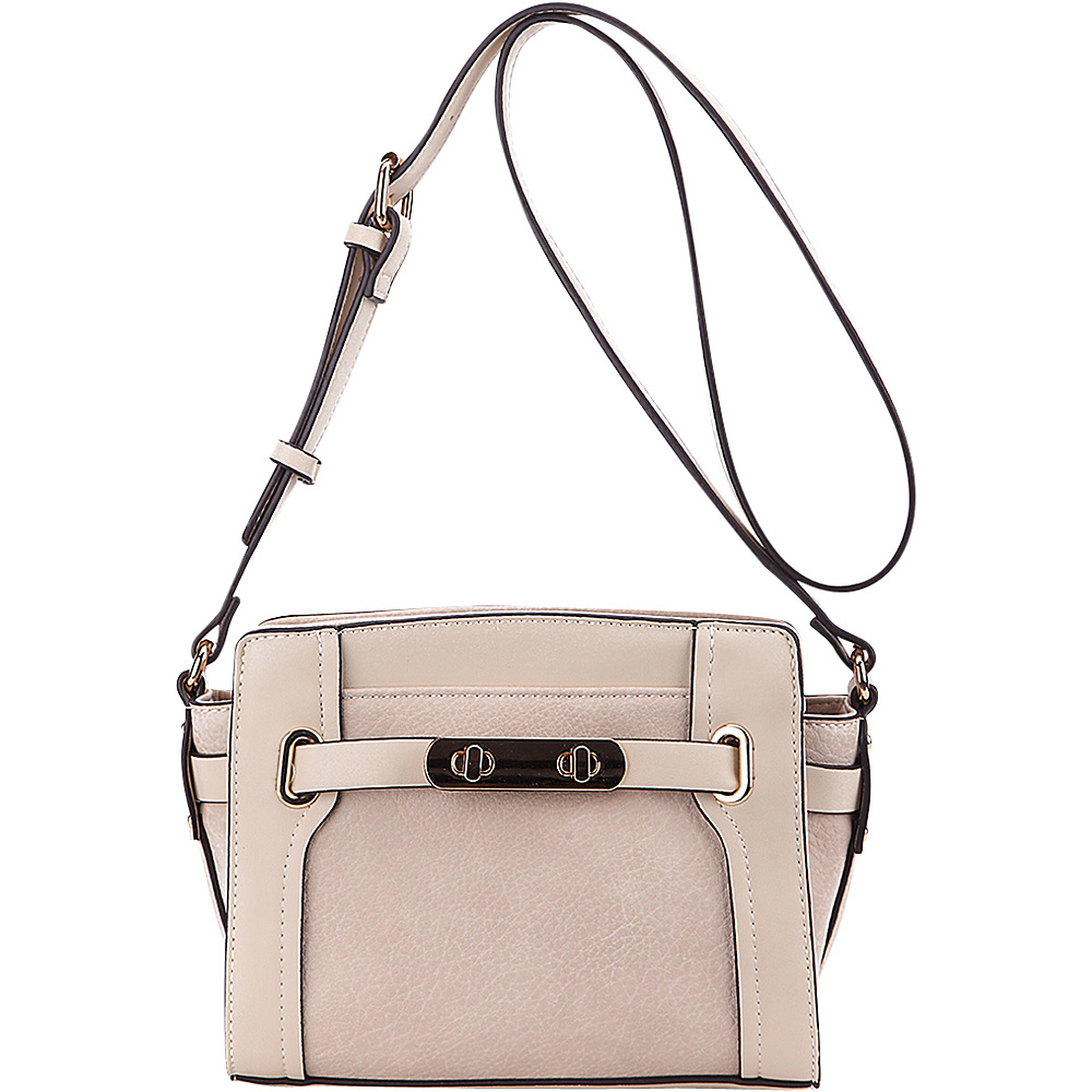MKF Collection Coach Crossbody Bag Beige - MKF Collection Manmade Handbags