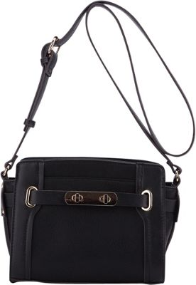 MKF Collection by Mia K. Farrow Coach Crossbody Bag Black - MKF Collection by Mia K. Farrow Manmade Handbags