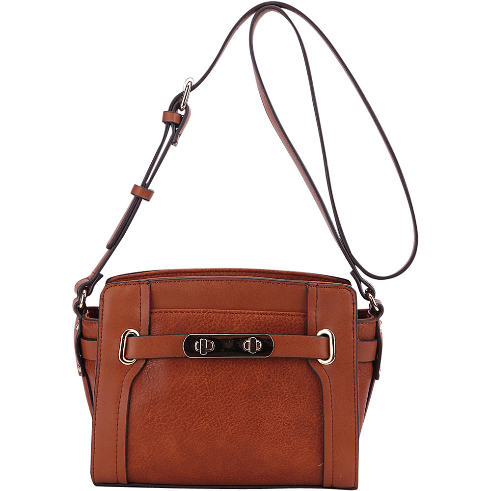 MKF Collection Coach Crossbody Bag Brown - MKF Collection Manmade Handbags