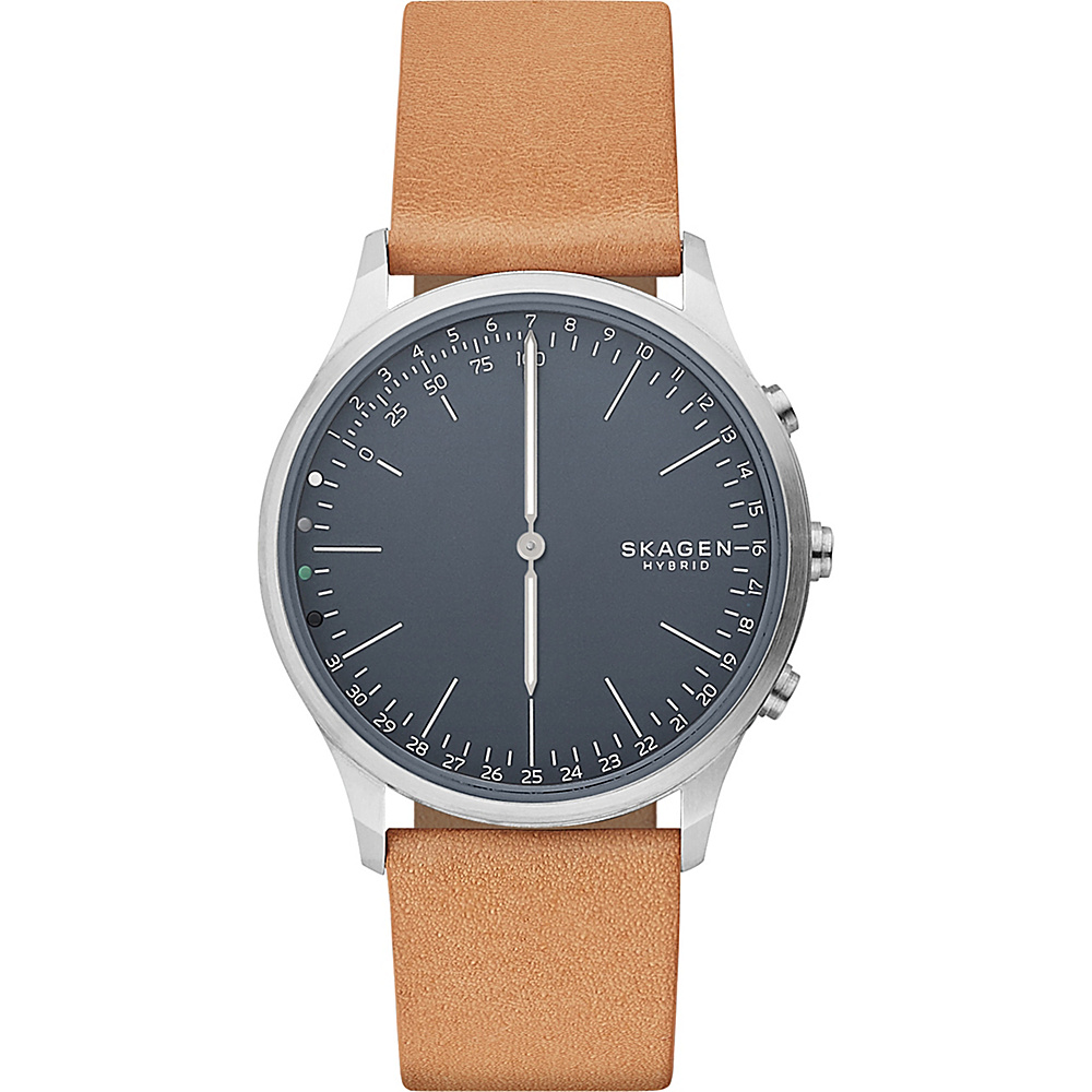 Skagen Jorn Connected Leather Hybrid Smartwatch Brown - Skagen Wearable Technology