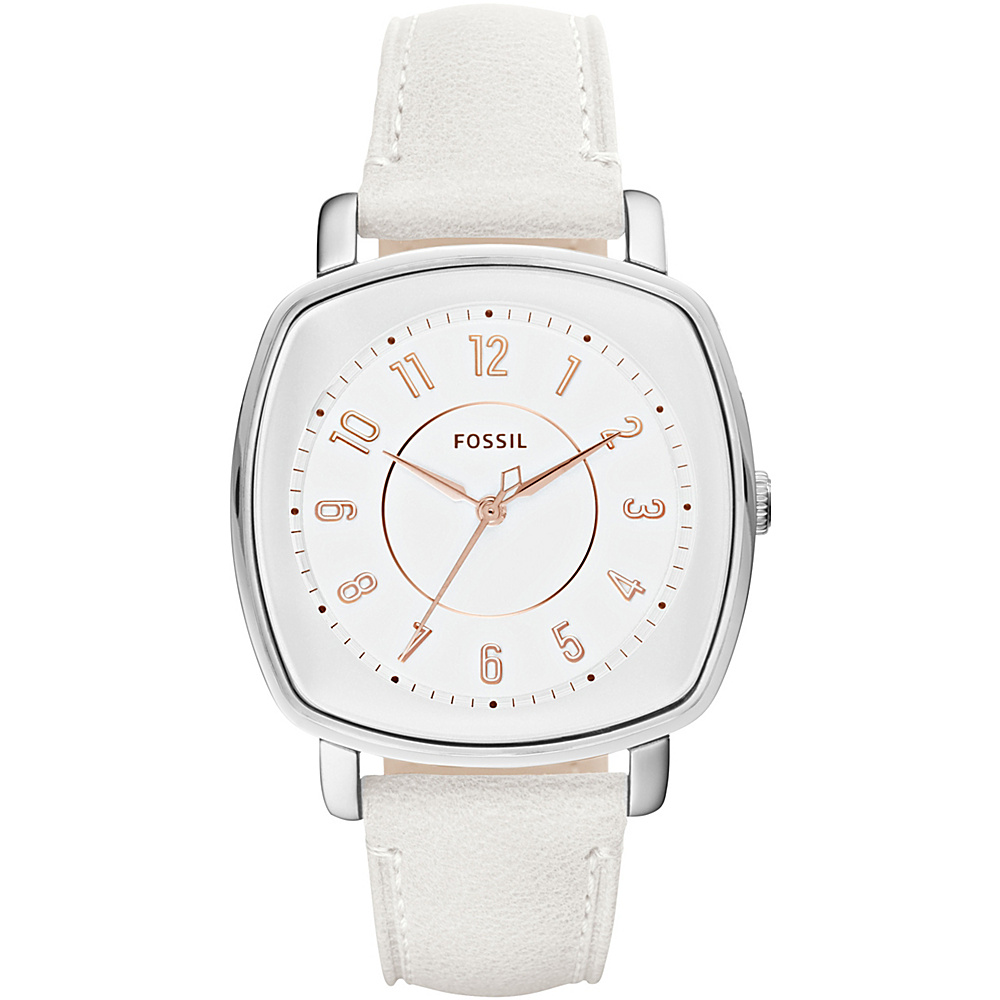 Fossil Idealist Three-Hand Watch White - Fossil Watches - Fashion Accessories, Watches