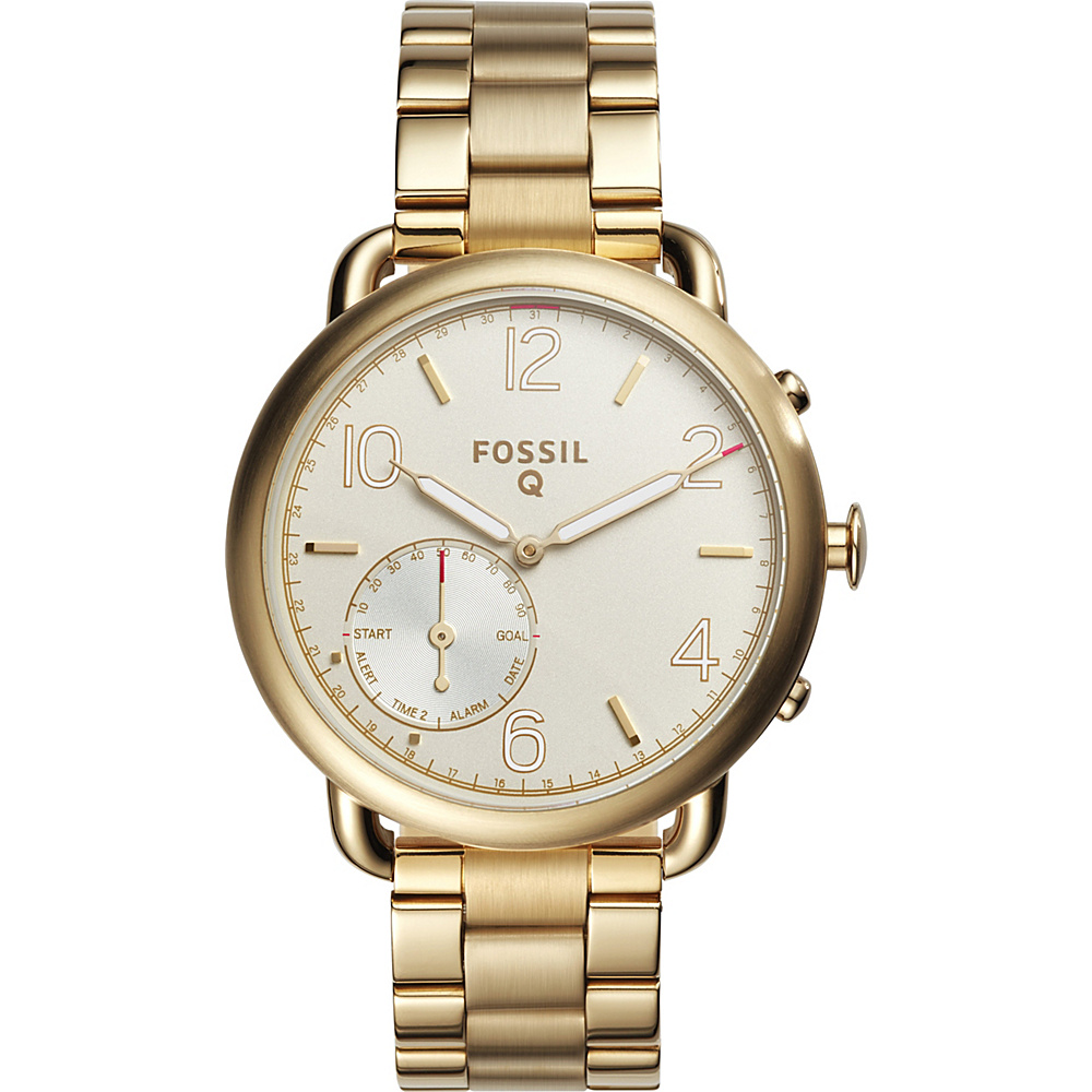 Fossil Q Tailor Hybrid Smartwatch Gold - Fossil Wearable Technology - Technology, Wearable Technology