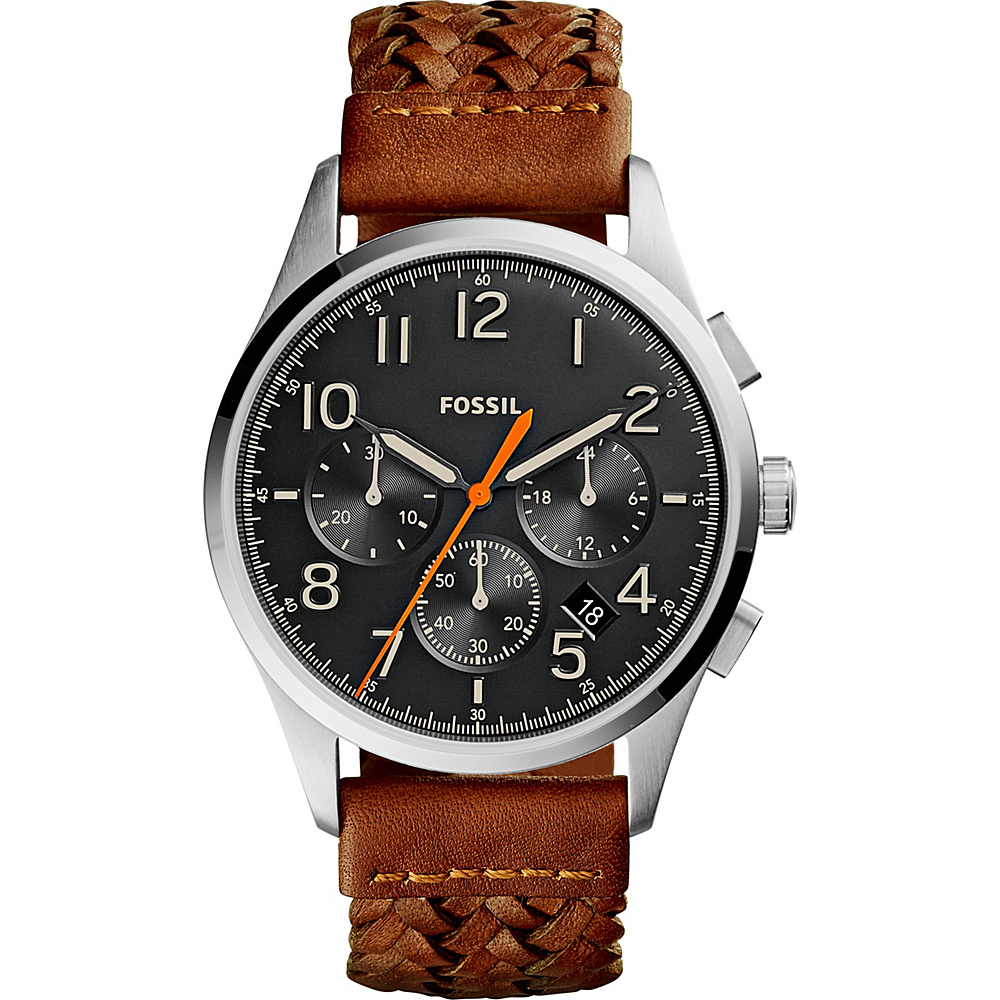 Fossil Vintage 54 Chronograph Watch Brown - Fossil Watches - Fashion Accessories, Watches