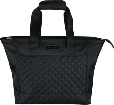 Kensie Luggage 14 inch Fashion Tote with Padded Tablet Compartment Black - Kensie Luggage Luggage Totes and Satchels