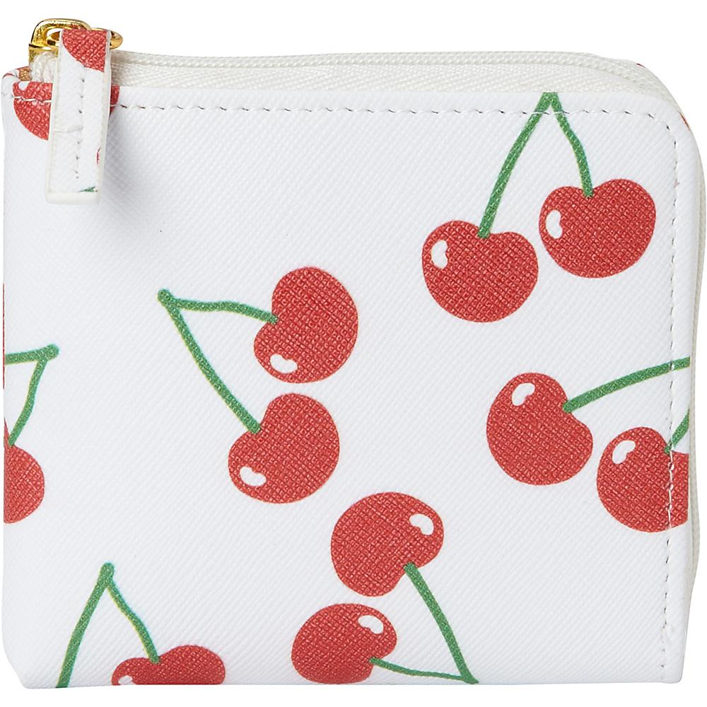 Buxton Fruit Punch Pik-Me-Up Mini L-Zip Snow White - Buxton Womens Wallets - Women's SLG, Women's Wallets