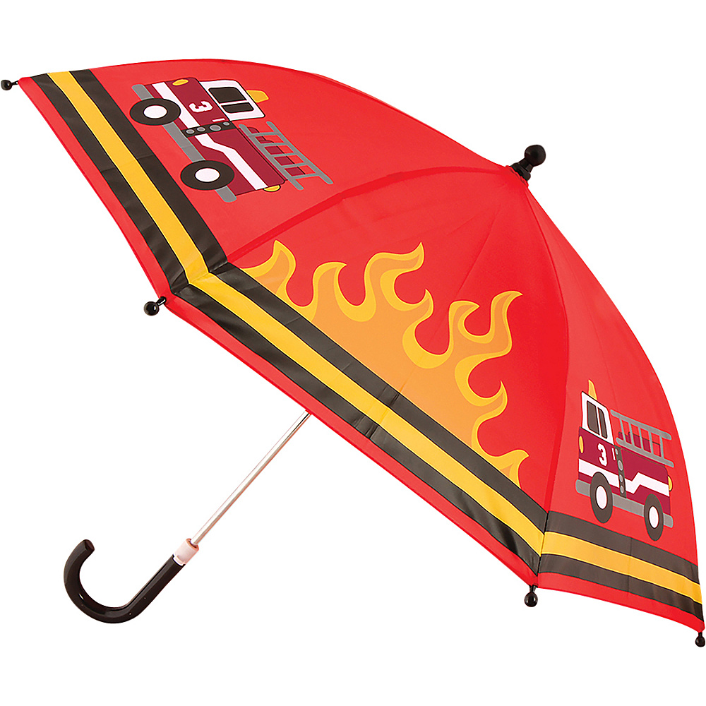 Stephen Joseph Kids Umbrella Fire Truck - Stephen Joseph Umbrellas and Rain Gear - Travel Accessories, Umbrellas and Rain Gear