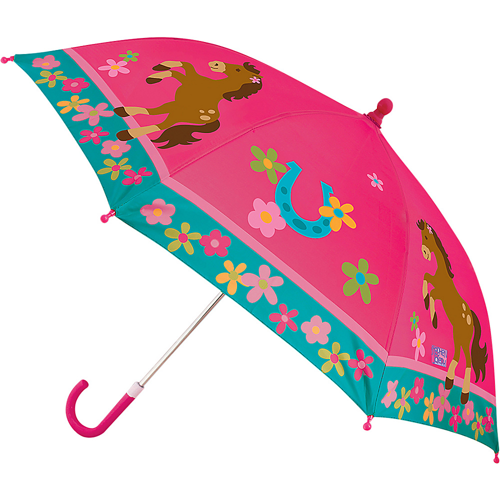 Stephen Joseph Kids Umbrella Horse - Girl - Stephen Joseph Umbrellas and Rain Gear - Travel Accessories, Umbrellas and Rain Gear