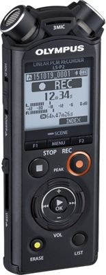 Olympus 8GB Digital Voice Recorder Black - Olympus Portable Entertainment