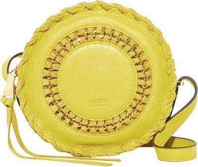 Aimee Kestenberg Handbags Harper Crossbody Blazing Yellow - Aimee Kestenberg Handbags Leather Handbags
