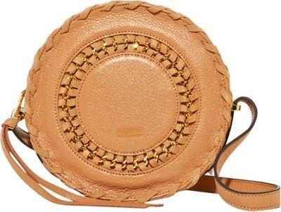 Aimee Kestenberg Handbags Harper Crossbody Caramel - Aimee Kestenberg Handbags Leather Handbags