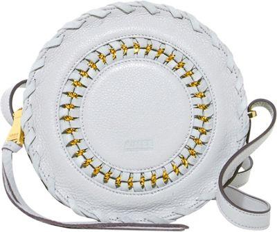 Aimee Kestenberg Handbags Harper Crossbody Dove Grey - Aimee Kestenberg Handbags Leather Handbags