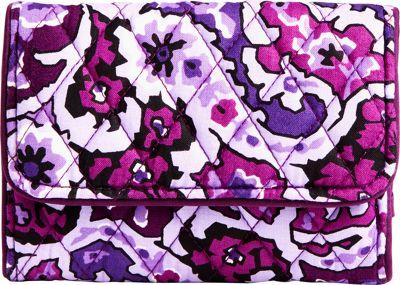 Vera Bradley RFID Compact Wallet Lilac Paisley - Vera Bradley Women's Wallets