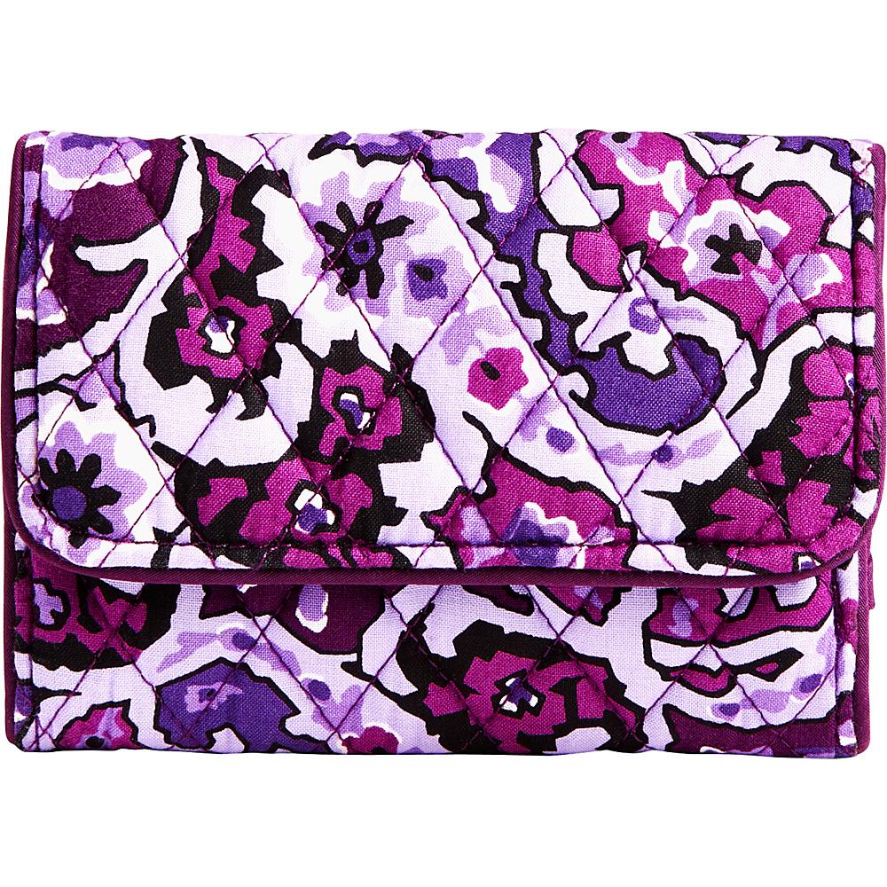 Vera Bradley RFID Compact Wallet Lilac Paisley - Vera Bradley Womens Wallets - Women's SLG, Women's Wallets