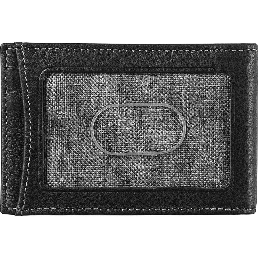 Johnston & Murphy Two-fold Money Clip Black – Johnston & Murphy Men's Wallets