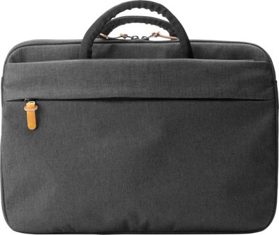 Booq Superslim 13 Laptop Brief Black/Tan - Booq Non-Wheeled Business Cases