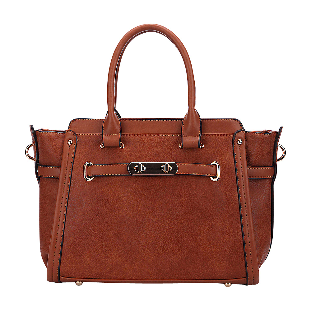 MKF Collection Swagger Carryall Handbag Brown - MKF Collection Manmade Handbags - Handbags, Manmade Handbags