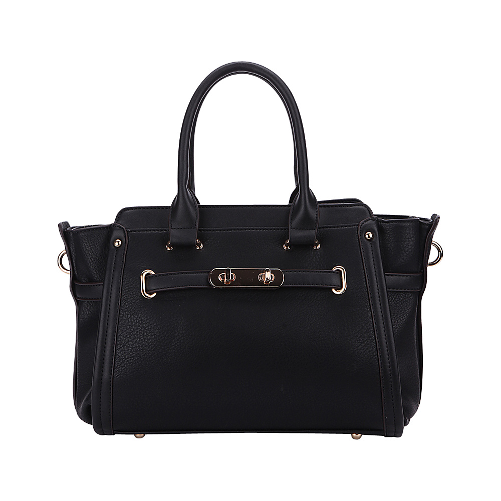 MKF Collection Swagger Carryall Handbag Black - MKF Collection Manmade Handbags - Handbags, Manmade Handbags