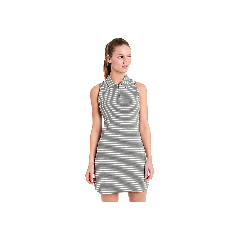 Lole Adisa Dress XS - White Stripe - Lole Womens Apparel - Apparel & Footwear, Women's Apparel