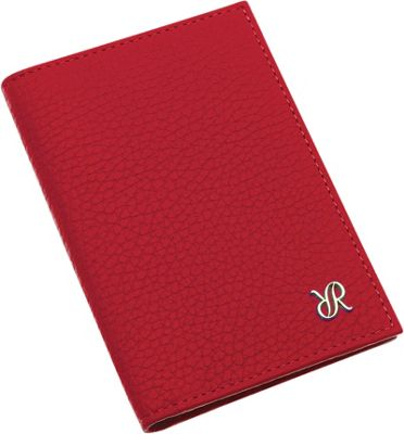 Rapport London Continental Leather Double Breast Wallet Red - Rapport London Women's Wallets