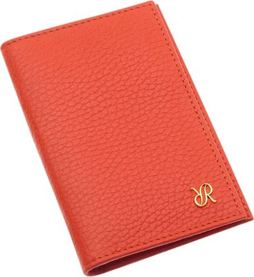 Rapport London Continental Leather Double Breast Wallet Orange - Rapport London Women's Wallets