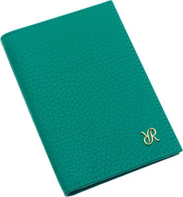 Rapport London Continental Leather Double Breast Wallet Green - Rapport London Women's Wallets