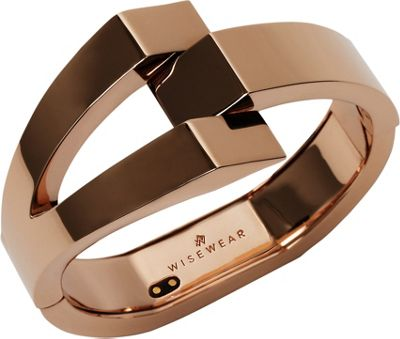 WiseWear Calder Smart Bracelet Rose Gold - WiseWear Wearable Technology